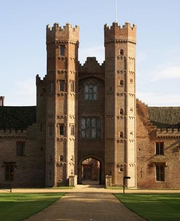 Oxburgh Hall gatehouse photo