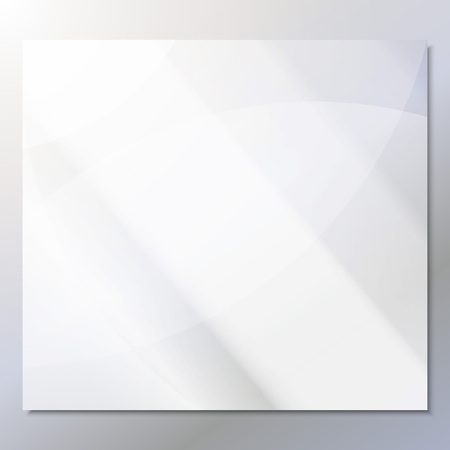 transparent glass on a gray background vector.