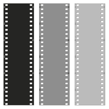set of films pattern background vector illustration Vector