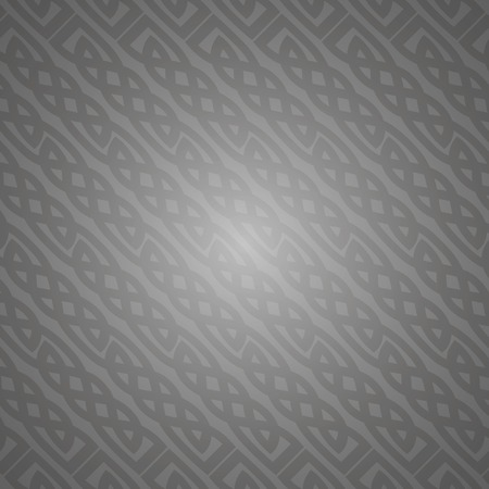 Ornate gray background, ?eltic design vector illustration Vector