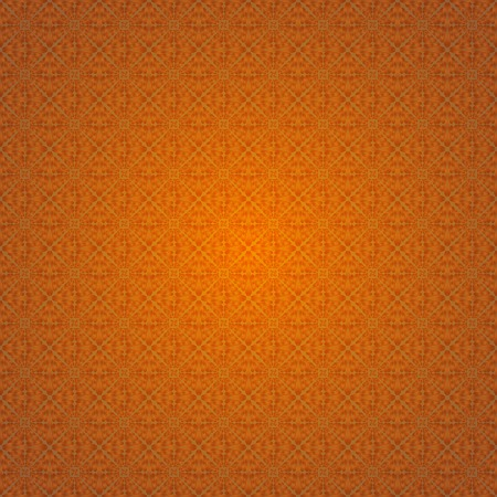 Ornate orange background, ?eltic design vector illustration Vector