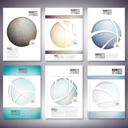 Brochure, dépliant ou rapport pour affaires, modèle Banque d'images - 35905245