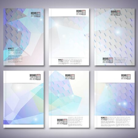 Brochure, flyer or report for business templates  Vector