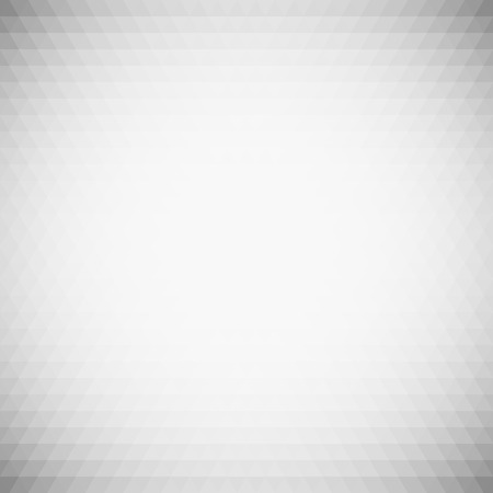 Gray geometric background, abstract triangle pattern vector.