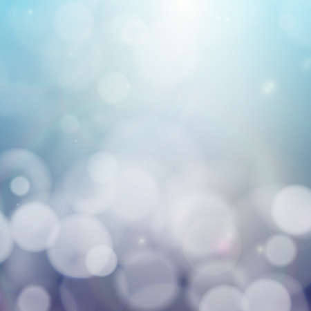 unfocused: Blurry background with bokeh effect. Abstract vector illustration.