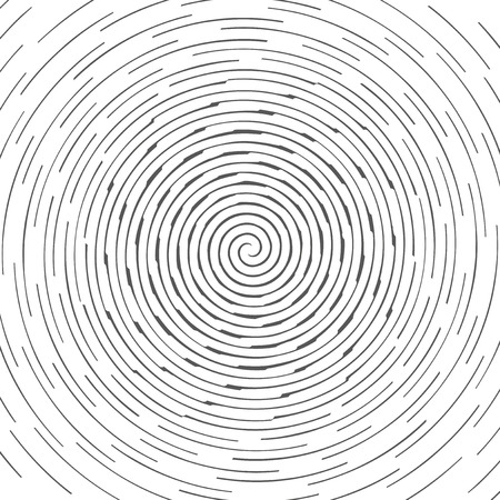 psychic: Abstract spiral design pattern. Circular, rotating background