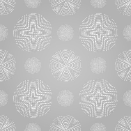subconscious therapeutic tornado: Abstract seamless spiral design pattern. Circular background, vector illustration. Illustration