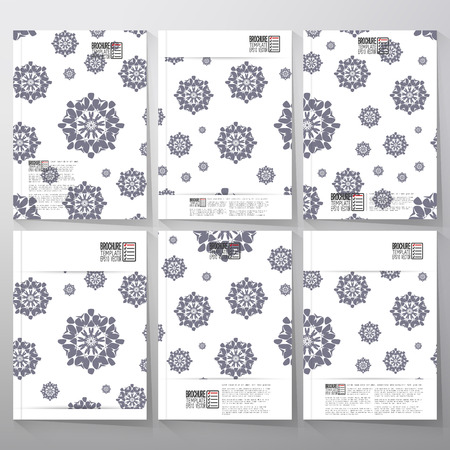 Abstract floral modern stylish geometric background Vector