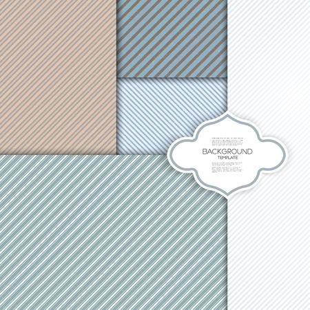 シームレスなストライプ グランジ パターン。ビンテージ デザイン ライン背景。モダンなスタイリッシュな幾何学的な背景を繰り返し。単純な抽象  イラスト・ベクター素材