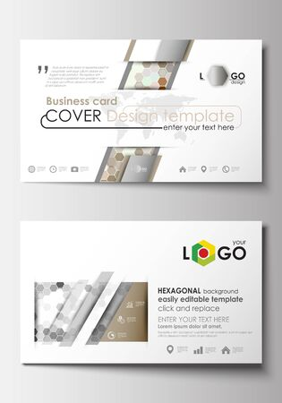 Business card templates cover design template easy editable blank 62121992 business card templates cover design template easy editable blank abstract flat layout abstract gray color business background reheart Choice Image