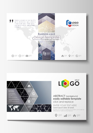 Business card templates cover template easy editable abstract business card templates cover template easy editable abstract flat design vector layout wajeb Image collections