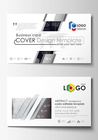 Business card templates easy editable layouts flat style template business card templates easy editable layouts flat style template vector illustration high accmission Image collections