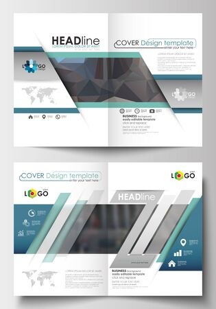 image size: Business templates for brochure, magazine, flyer, booklet or annual report. Cover design template, easy editable blank, abstract flat layout in A4 size. Abstract business background, blurred image, urban landscape, modern stylish vector. Illustration