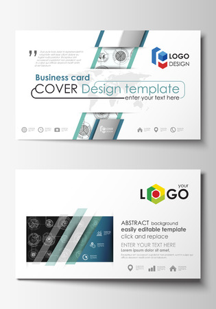 Business card templates easy editable layouts flat style template business card templates easy editable layouts flat style template vector illustration high cheaphphosting Gallery