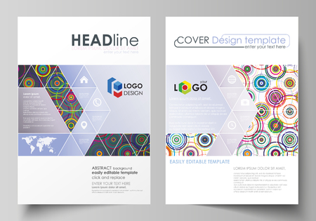 desig: Business templates for brochure, magazine, flyer, booklet, report. Cover desig