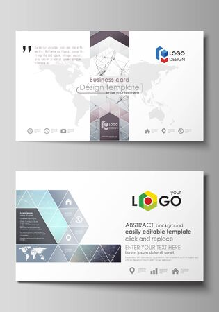 Business card templates easy editable layout abstract vector business card templates easy editable layout abstract vector design template compounds lines and fbccfo Choice Image