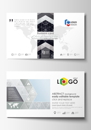 Business card templates easy editable layouts flat style template business card templates easy editable layouts flat style template vector illustration high friedricerecipe Images