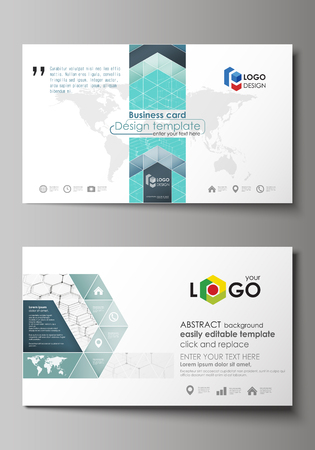 Business card templates easy editable layout abstract vector business card templates easy editable layout abstract vector design template chemistry pattern friedricerecipe Images