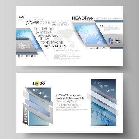 image size: Layout of high definition presentation slides design business templates.