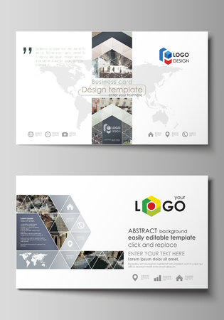 Business card templates easy editable layout abstract vector business card templates easy editable layout abstract vector design template colorful pattern made fbccfo Gallery
