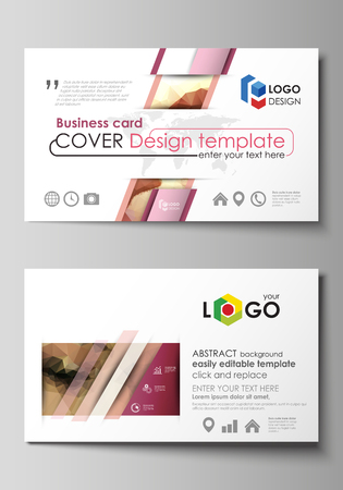 Business card templates easy editable layout abstract vector business card templates easy editable layout abstract vector design template beautiful background wajeb Choice Image
