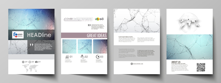 tecnology: Business templates for brochures and magazines