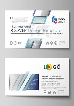 Business card templates easy editable layout abstract vector business card templates easy editable layout abstract vector design template chemistry pattern friedricerecipe Gallery