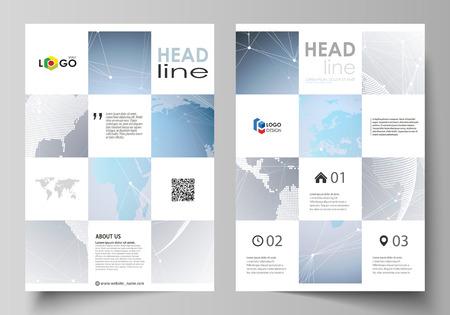 Business brochure template design. Ilustração