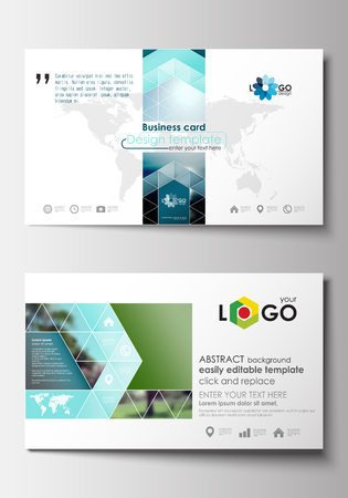 Business card templates flat design blue color travel decoration business card templates flat design blue color travel decoration layout easy editable vector template fbccfo Gallery