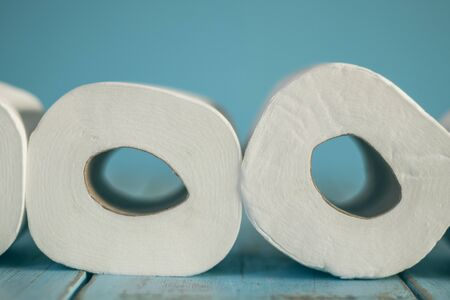 Toilet paper. Concept of personal hygiene