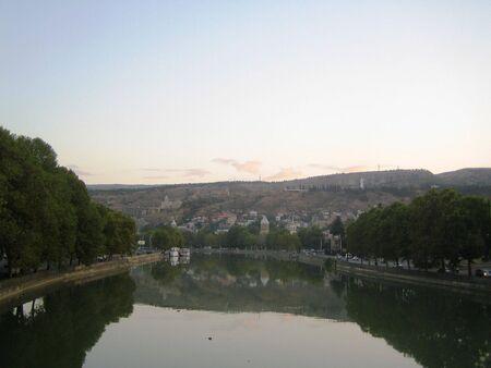 tbilisi: Fiume Mktvari a Tbilisi