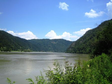 Landscape with Danube in Bavaria Stock Photo - 3107510