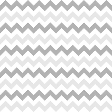 Horizontal zigzags seamless pattern. Gray chevron textile, stripes wallpaper. Retro fashion background for book cover and greeting card