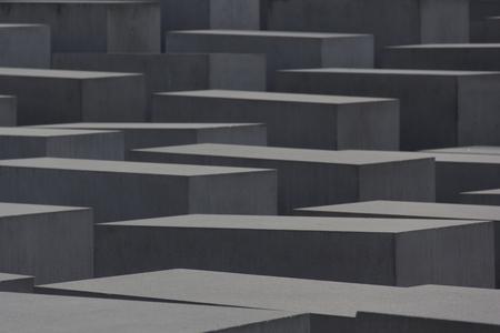 jews: jews memorial berlin, geometric, architecture, light, shadows, multiplication, symmetry Stock Photo
