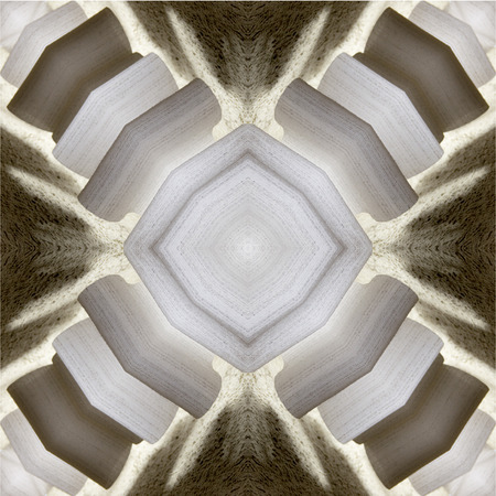 abstraction: kaleidoscope abstraction