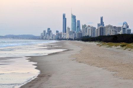 gold coast: Surfers Paradise Skyline Queensland Australia Surfers Paradise skyline in Gold Coast Queensland Australia.