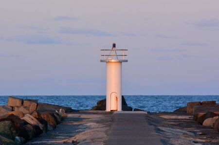 seaway: Gold Coast Seaway Queensland Australia The Light house of Gold Coast Seaway in Queensland Australia. Stock Photo