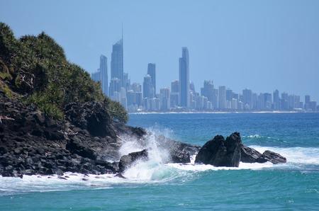 queensland: Surfers Paradise Skyline Queensland Australia Surfers Paradise skyline in Gold Coast Queensland Australia.