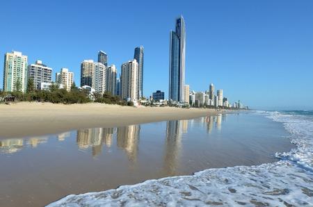 gold coast australia: Surfers Paradise Skyline Queensland Australia Surfers Paradise skyline in Gold Coast Queensland Australia.