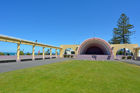 new zealand: The Sound Shell in Napier, the Art deco capital of New Zealand