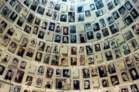 jewish: JERUSALEM - NOV 07:Visitors at Yad Vashem on November 07 2005 in Jerusalem,Israel.Its a world center for Holocaust research, documentation, education and commemoration to the 6 million Jewish victims