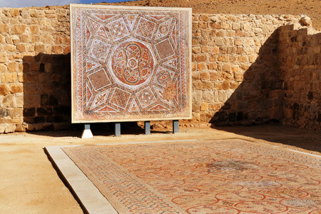 The Good Samaritan is Church a Christian and worlds largest mosaic museums in the Dead Sea area near Jericho Israel