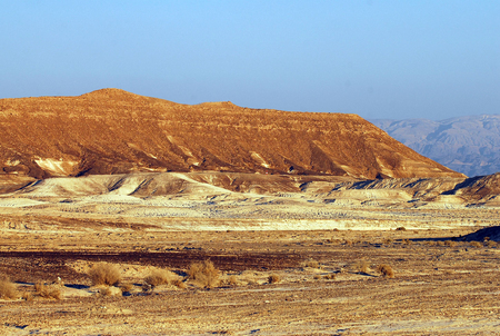Arabah area in the Jordan Rift Valley in south, Israel. photo