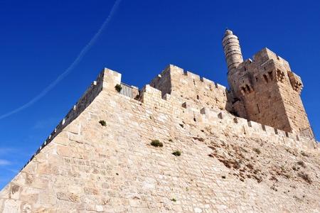 the citadel: Re David Citadel Gerusalemme, Israele.