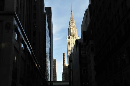 chrysler: The Chrysler Building Manhattan New York, USA.