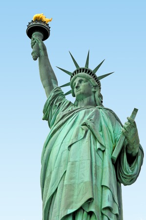 The Statue of liberty Manhattan, New York, USA.