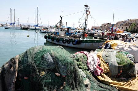 akko: The historic port of Acre in Akko ,Israel.