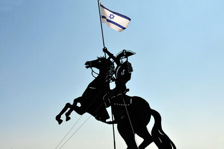 napoleon i: Statue of Napolion in Acre Akko, Israel. Editorial