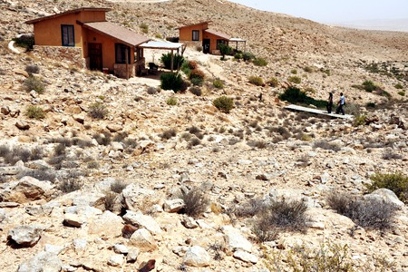 negev: Desert lodges in the Negev desert  Israel