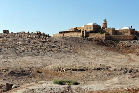 nabi: Nabi Musa the Tomb of Moses, near Jericho and the Dead Sea, Israel.